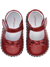 pediped Isabella Red Patent