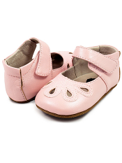 Livie & Luca Petal Light Pink Shimmer (Baby Soft Sole)