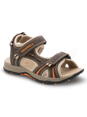 Merrell Panther Sandal Brown/Black (Kids/Youth)
