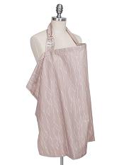 Bebe au Lait Organic Cotton Nursing Cover Blush
