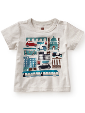 Tea Collection City Slicker Graphic Tee (Baby Boys)