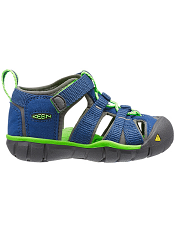 KEEN Seacamp II CNX True Blue/Jasmine Green (Toddler)