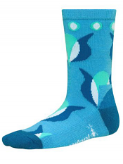 SmartWool Girls Tulip Horizon Blue