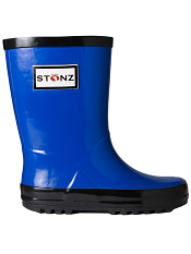 Stonz Rain Bootz Royal Blue/Black