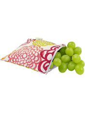 Itzy Ritzy Snack Happens Snack Bag Fresh Bloom