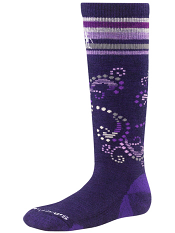 SmartWool Girls Ski Racer Imperial Purple