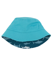 Hatley Lots Of Sharks Sun Hat