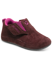 Merrell Jungle Moc Baby Berry/Grey (Soft Sole)