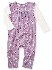 Tea Collection Maiko Double Decker Romper (Baby Girls)