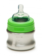 Klean Kanteen 5oz Baby Bottle w/ Slow Flow Nipple