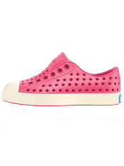 Native Jefferson Hollywood Pink/Bone White (Toddler/Kids)
