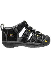 KEEN Seacamp II CNX Black/Yellow (Toddler)
