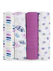 aden + anais Classic Swaddles Wink 4-pack
