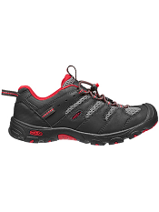 KEEN Koven Low Raven/Ribbon Red Kids/Youth