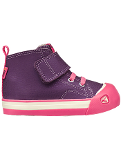 KEEN Coronado High Top Leather Purple Toddler