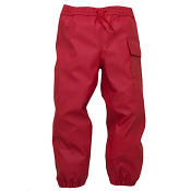 Hatley Splash Pants Chex Red