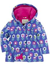 Hatley Nordic Flowers Lined Raincoat