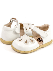 Livie & Luca Petal White (Toddler/Kids)