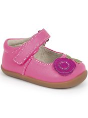 Smaller Steps By See Kai Run Carli Hot Pink/Berry