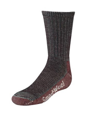SmartWool Kids Hike Light Crew Gray/Red