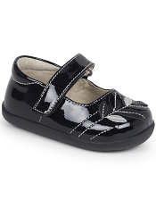 Smaller Steps By See Kai Run Adeline Black Patent