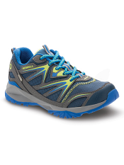 Merrell Capra Bolt Lace Waterproof Navy/Citron (Kids/Youth) (Wide)