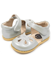 Livie & Luca Petal Silver Metallic (Kids)