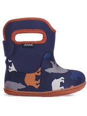 Baby Bogs Waterproof Boots Classic Polar Bears Dark Blue Multi