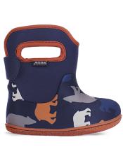 Baby Bogs Waterproof Boots Classic Polar Bears Dark Blue Multi