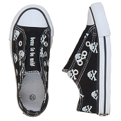 "Hatley ""Bone to be Wild"" Pirate Dogs Canvas Shoes"
