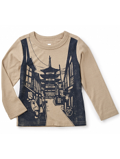 Tea Collection Kyoto Graphic Tee (Boys)