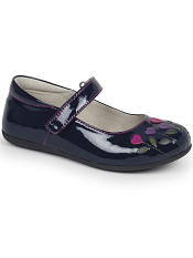Kai by See Kai Run Tricia Navy Patent/Berry