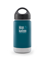 Klean Kanteen 12oz Wide Insulated Neptune Blue
