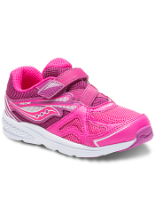 Saucony Baby Ride Pink/Berry (Toddler/Kids)
