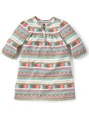 Tea Collection Catamarca Henley Dress