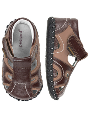 pediped Brody Brown/Tan