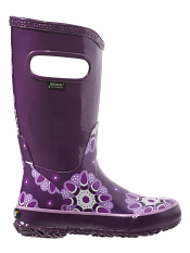 Bogs Rain Boots Kaleidoscope Purple Multi