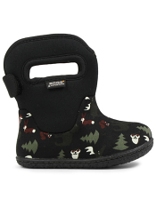 Baby Bogs Waterproof Boots Classic Woodland Black Multi