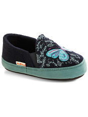 Acorn Colby Gore Moc Navy Butterfly