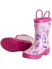 Hatley Happy Owl Rain Boots