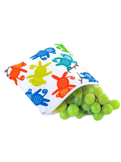 Itzy Ritzy Snack Happens Snack Bag Monkey Mania