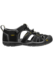 KEEN Seacamp II CNX Black/Yellow (Kids/Youth)