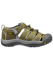 KEEN Newport H2 Burnt Olive/Yellow (Kids/Youth)