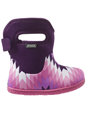 Baby Bogs Waterproof Boots Classic Native Purple Multi