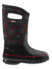 Bogs Kids' Insulated Boots Classic Creepy Crawler Black Multi