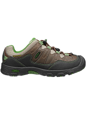 KEEN Pagosa Low WP Wide Cascade Brown/ Treetop Kids/Youth