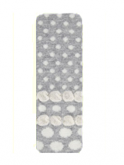 Country Kids Bubble Dot Tights Silver Gray