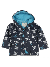 Hatley Skulls Lined Raincoat