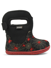 Baby Bogs Waterproof Boots Classic Creepy Crawler Black Multi
