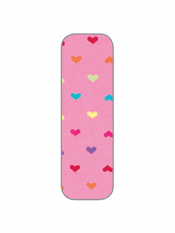 Country Kids Hearts Tights Bubblegum